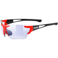 OKULARY UVEX Sportstyle 803 Race VM Black/Red Mat 2017
