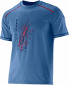 KOSZULKA SALOMON PARK TEE M Midnight Blue