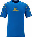 SALOMON STROLL LOGO TEE M UNION BLUE