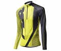 FISCHER RACING SHIRT DRAMMEN Yellow/Black