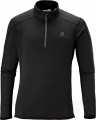 BLUZA SALOMON DISCOVERY HZ MID M Black