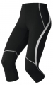 GETRY ODLO TIGHTS 3/4 COSMOS Black