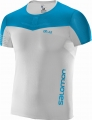 KOSZULKA SALOMON S-LAB SENSE TEE M White/Blue