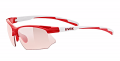OKULARY UVEX Sportstyle 802 V Red/White 2017