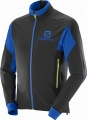 SALOMON MOMEMTUM SOFTSHELL JKT M Black/Blue