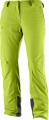 SPODNIE SALOMON ICEMANIA PANT W Acid Lime