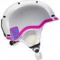 KASK SALOMON GROM WHITE GLOSSY/Pink 2017