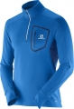 SALOMON TRAIL RUNNER WARM LS ZIP Blue