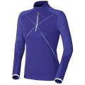 ODLO MIDLAYER 1/2 ZIP SUNDAY RIVER FIOLET