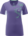 KOSZULKA SALOMON START TEE W Purple
