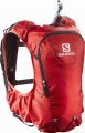 PLECAK SALOMON SKIN PRO 10 SET Bright Red/Black