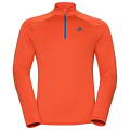 BLUZA ODLO MIDLAYER ½ ZIP SNOWBIRD Orange