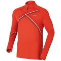 ODLO MIDLAYER 1/2 ZIP MISCHABEL RED