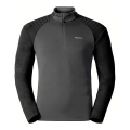 BLUZA ODLO PACT MIDLAYER ½ ZIP Black/Grey