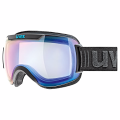 GOGLE UVEX DOWNHILL 2000 VFM Black Mat/Mirror Blue