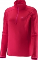 SALOMON  DISCOVERY 1/2 ZIP W PINK 2016