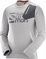 BLUZA SALOMON PULSE CREWNECK M Vapor/Alloy