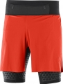 SPODENKI SALOMON EXO TWINSKIN SHORT M Fiery Red