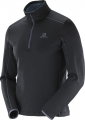 BLUZA SALOMON DISCOVERY 1/2 ZIP M Black