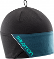 CZAPKA SALOMON RS BEANIE Black/Reflecting
