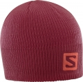 CZAPKA SALOMON LOGO BEANIE Biking Red
