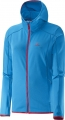 BLUZA SALOMON DISCOVERY HOODIE W Methyl Blue