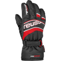 Rękawice REUSCH Ski Race Junior Black Red