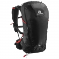 PLECAK SALOMON PEAK 30 Black/Bright/Red