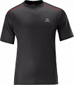 KOSZULKA SALOMON START TEE M Black/Red