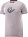 KOSZULKA SALOMON STROLL GRAPHIC SS TEE M Gull Gray
