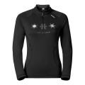 BLUZA ODLO GLADE MIDLAYER 1/2 ZIP Black 2017
