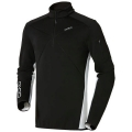 ODLO MIDLAYER 1/2 ZIP SUNDAY RIVER BLACK