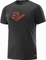 KOSZULKA SALOMON STROLL GRAPHIC SS TEE M Black