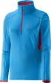 BLUZA SALOMON DISCOVERY ACTIV HZ W Methyl Blue