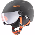 KASK UVEX JUNIOR VISOR PRO Black-Orange Mat 2018