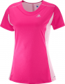 KOSZULKA SALOMON AGILE HEATHER TEE W Pink