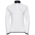Bluza Odlo Midlayer Carve Warm 1/2 zip White
