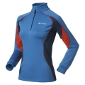 ODLO STAND-UP COLLAR 1/2 ZIP SIMPLON BLUE