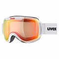 GOGLE UVEX DOWNHILL 2000 VFM White/Mirror Red