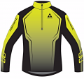 KOSZULKA FISCHER RIALE SKISHIRT - Turtleneck Yellow/Black