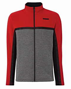Bluza Head Origin FZ Midlayer Red/Grey
