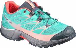 Buty SALOMON Wings J Teal Blue 375903