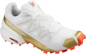 Buty Salomon Speedcross 5 W LTD EDITION White/ Cherry Tomato 411562