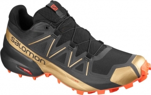Buty Salomon Speedcross 5 LTD EDITION Black/Cherry Tomato 411561