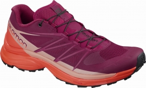 Buty SALOMON Wings Pro 3 W Beet Red 401471