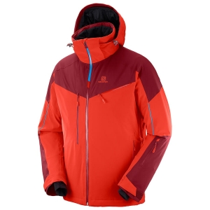 Kurtka Salomon Icespeed JKT M Fiery red 2019