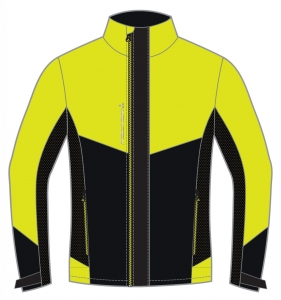 Kurtka FISCHER WS Light Jacket - Oestersund Yellow
