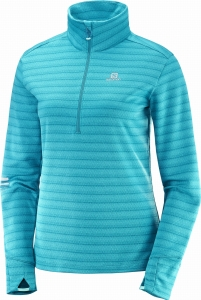 Bluza Salomon Lighting HZ Mid W Blue 400811
