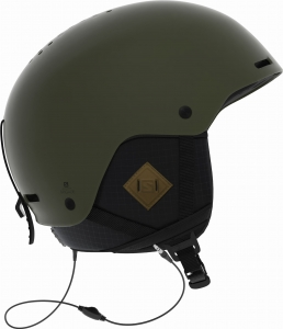 Kask SALOMON Brigade + Audio Olive Night