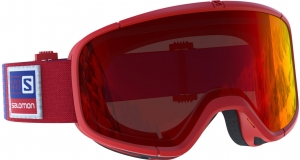 Gogle Salomon Four Seven Red/Mid Red 399020